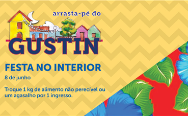 Arrasta-pé do Gustin